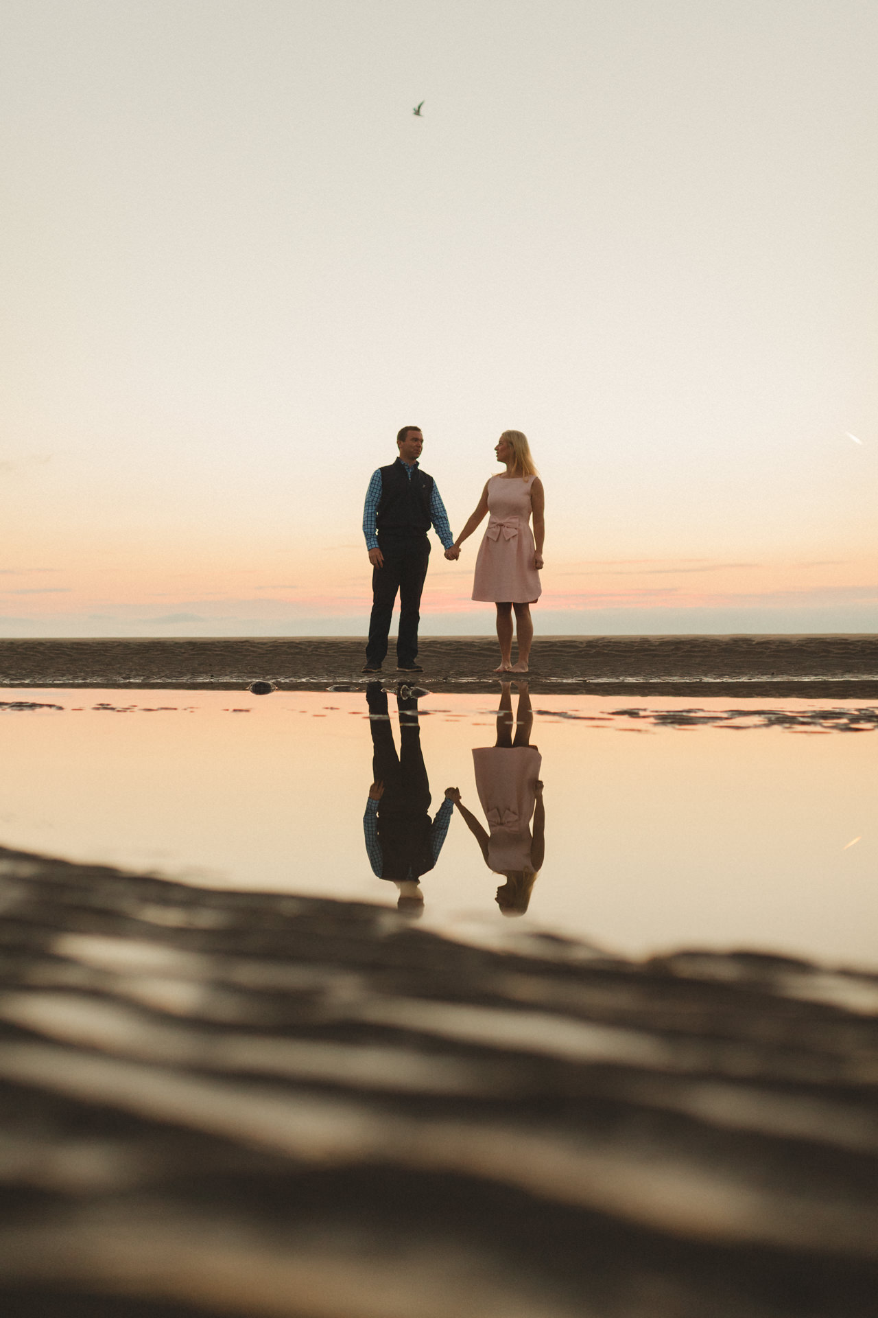 Portmarnock beach engagement session 2