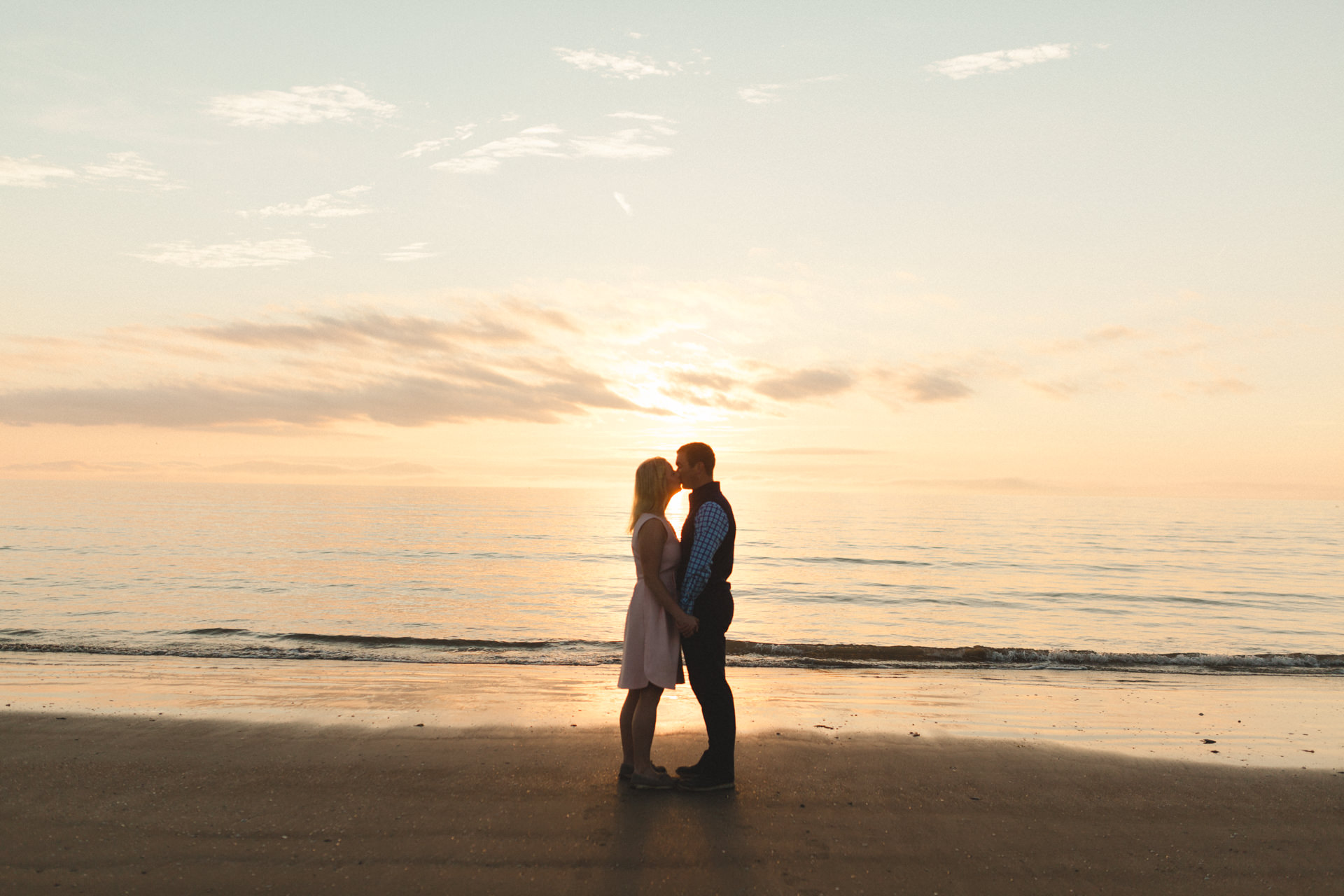 Portmarnock beach engagement session 5