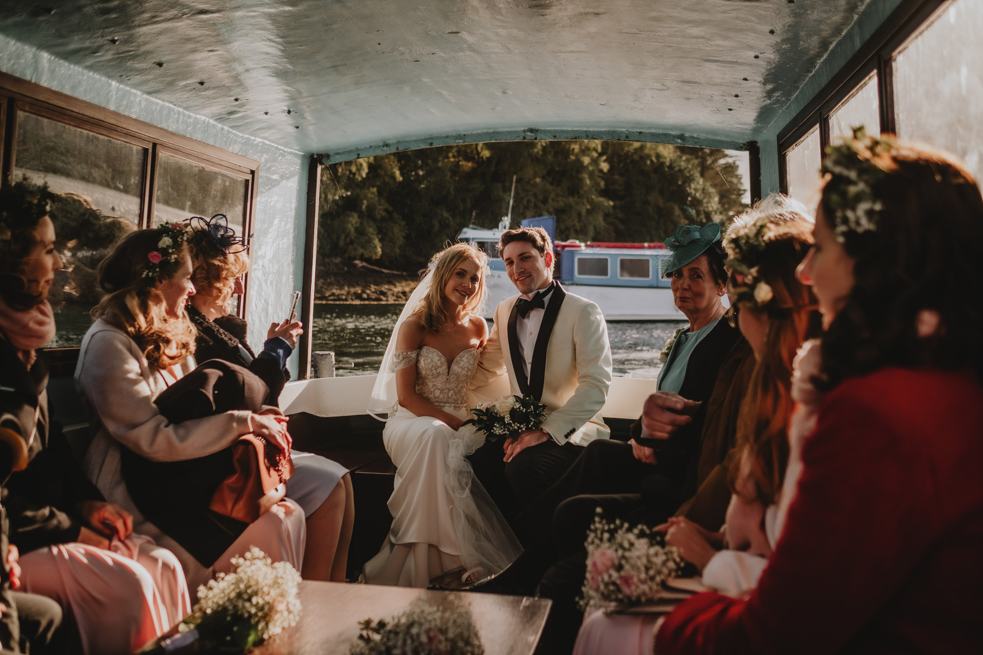 Garnish Island Wedding 17